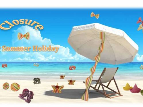 Closure-for-summer-holiday